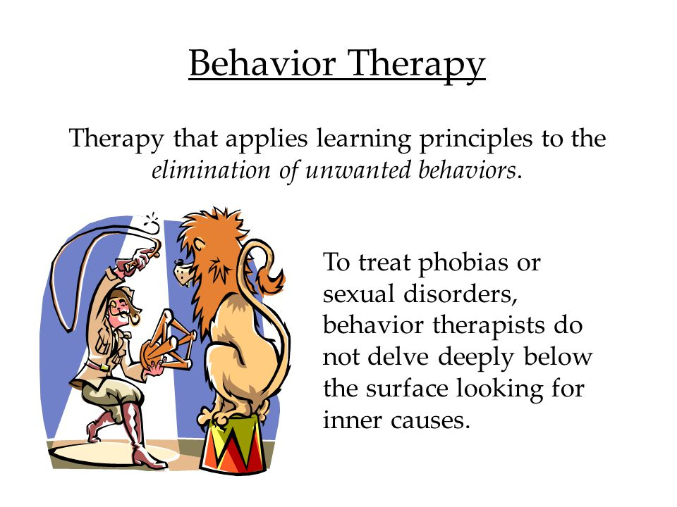 Humanistic Therapy The therapist engages in active listening and echoes, restates, and clarifies the patient's thinking, acknowledging expressed feelings.