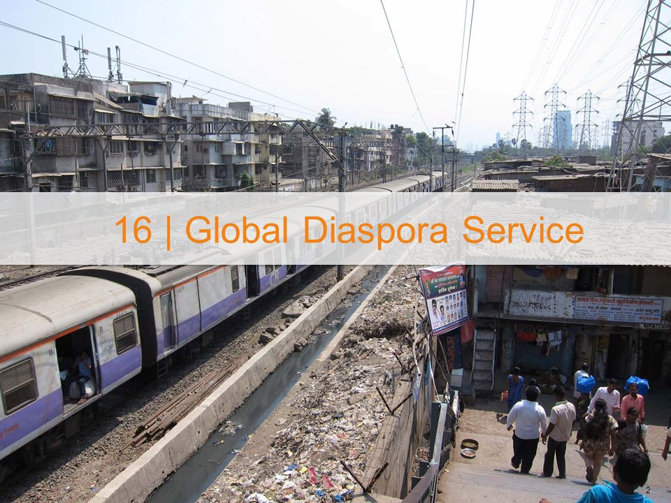 16 | Global Diaspora Service 2