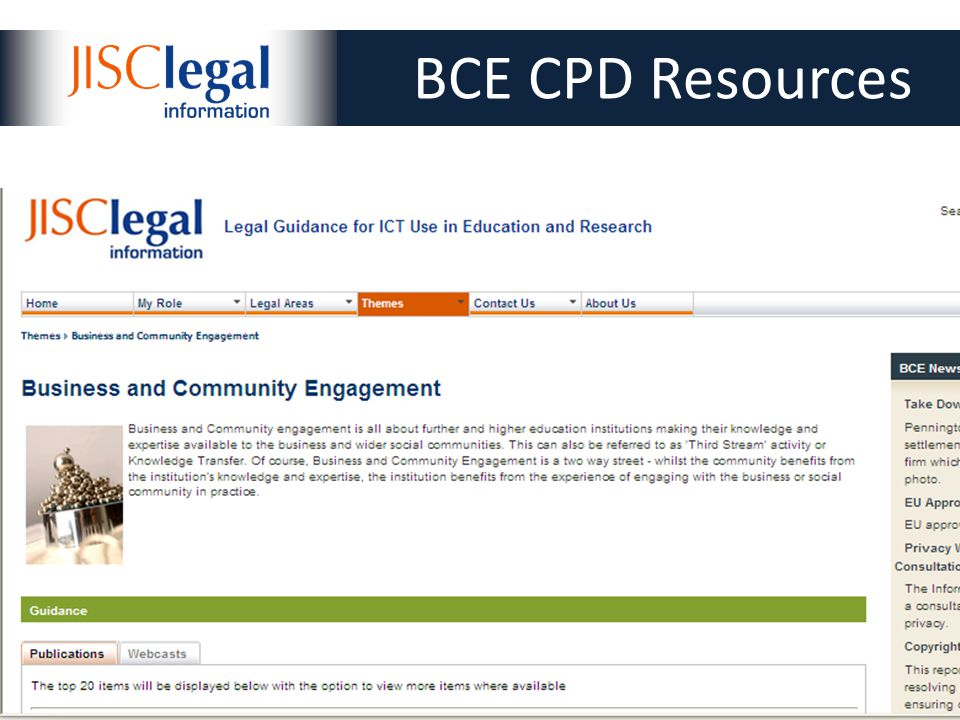 Slide 4 of 16 4 BCE CPD Resources