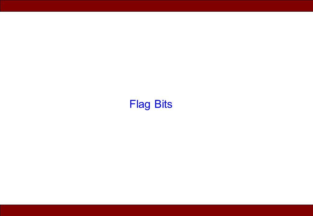 © 2010 Noah Mendelsohn Flag Bits