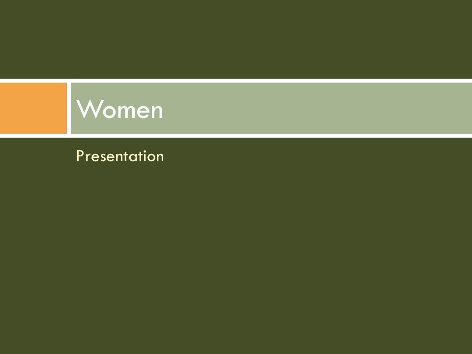 Presentation Women