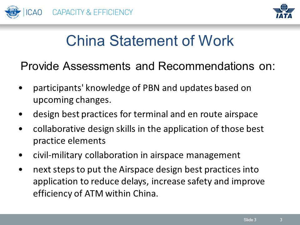 Benefits of PBN 14 Reduction of Delays - Reduce delays at airports and in busy airspace through the application of newly enabled arrival and departure corridors around busy terminal areas, along with improving flight re-routing capabilities, and making the better use of optimally spaced procedures and airspace Courtesy FAA