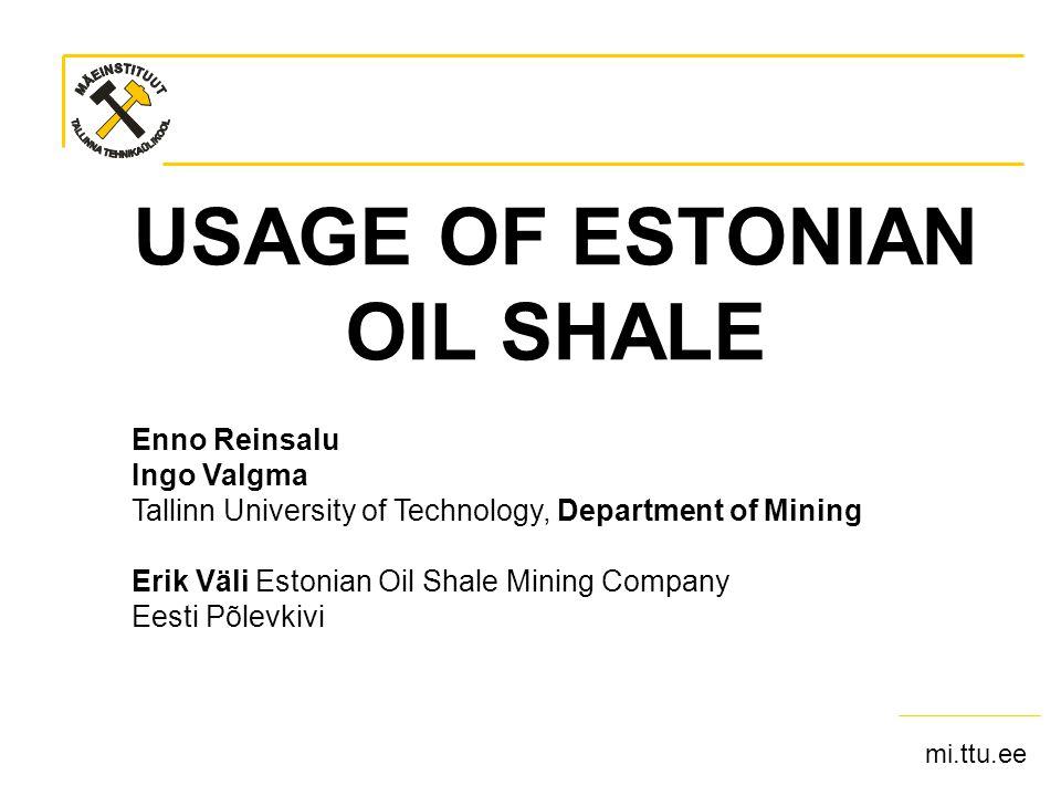 mi.ttu.ee Sept 16 2007MAEGS15- OIL SHALE USAGE- Ingo Valgma 12 Thickness
