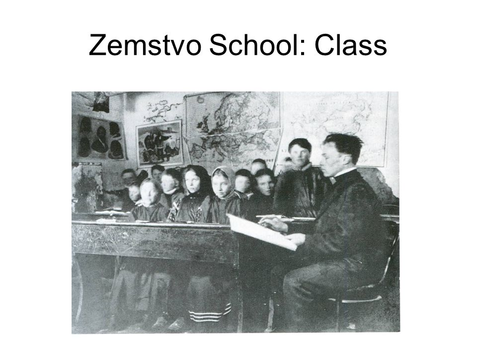 Zemstvo School: Class