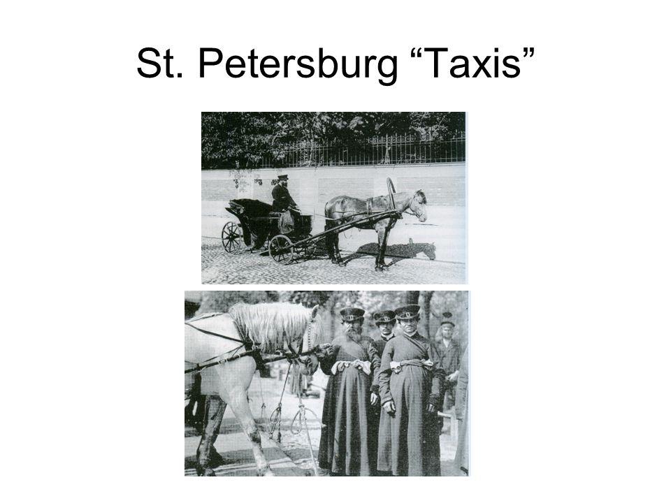 St. Petersburg Taxis
