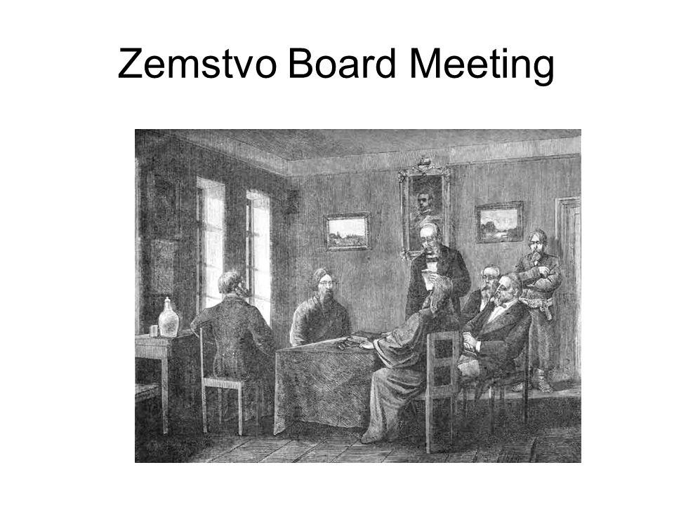 Zemstvo Board Meeting
