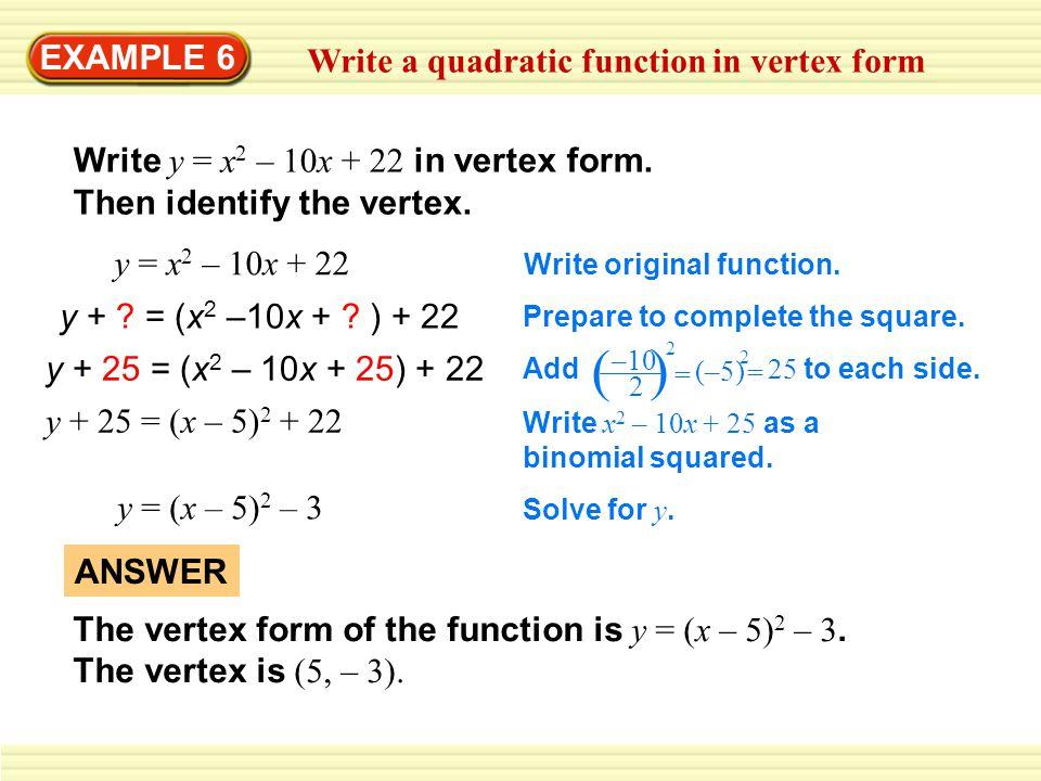How Do You Write A Quadratic Equation - Jennarocca