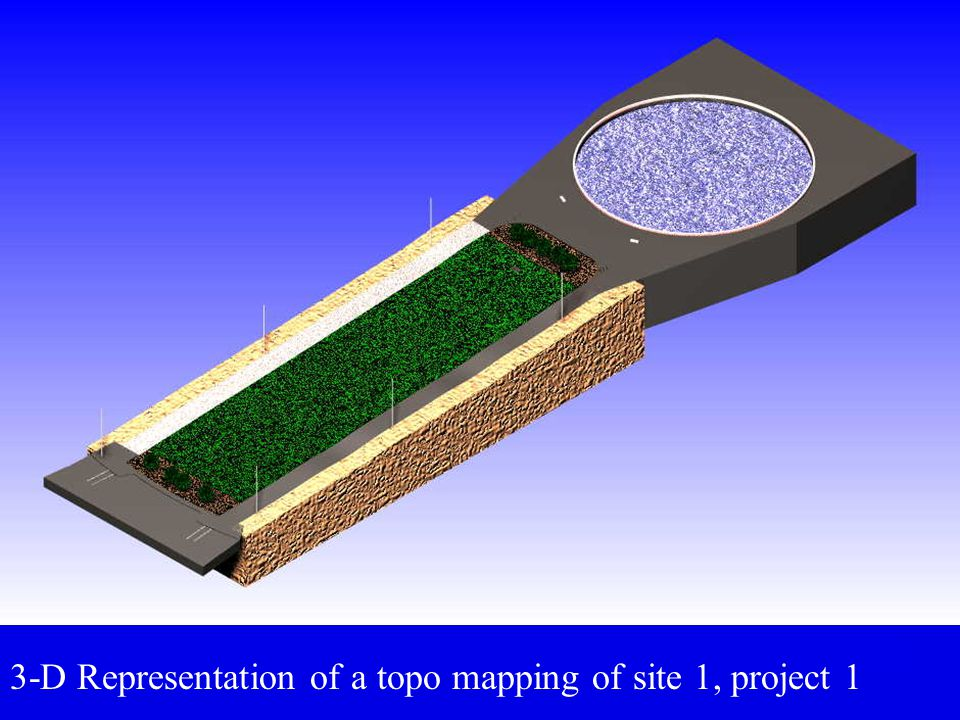 Field Methods for Locating Topographic Details Radiation by total station: measure angle and distance to each feature.