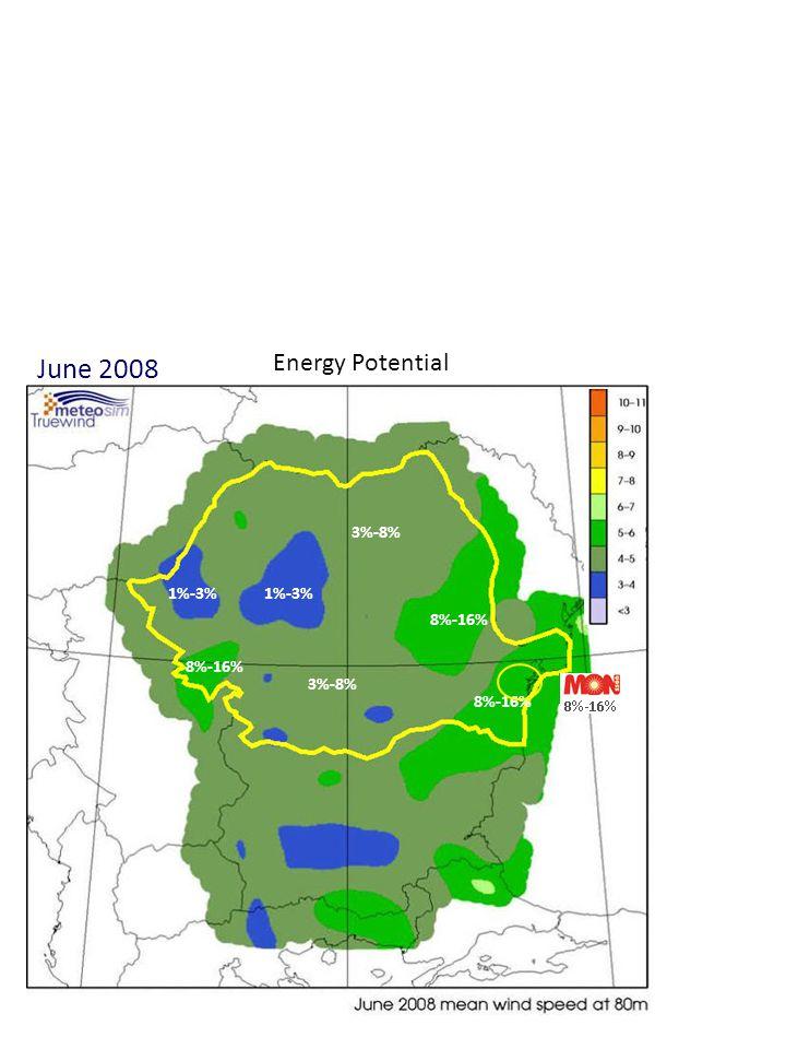June 2008 Energy Potential 1%-3% 3%-8% 8%-16% 1%-3% 8%-16% 3%-8% 8%-16%