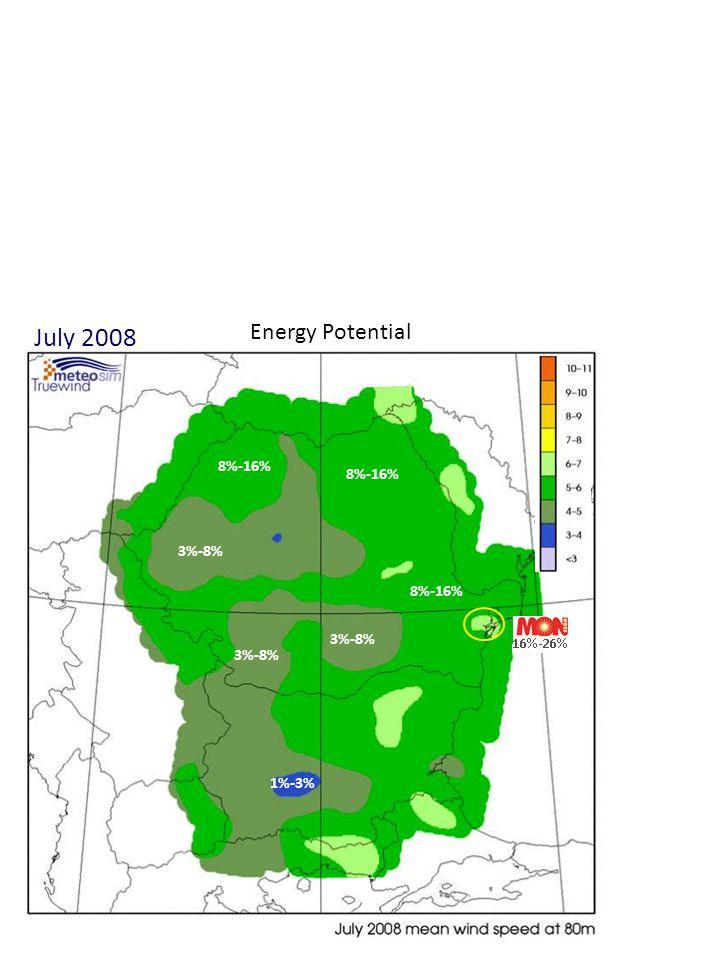 April 2010 Energy Potential 3%-8% 8%-16% 16%-26% 1%-3%
