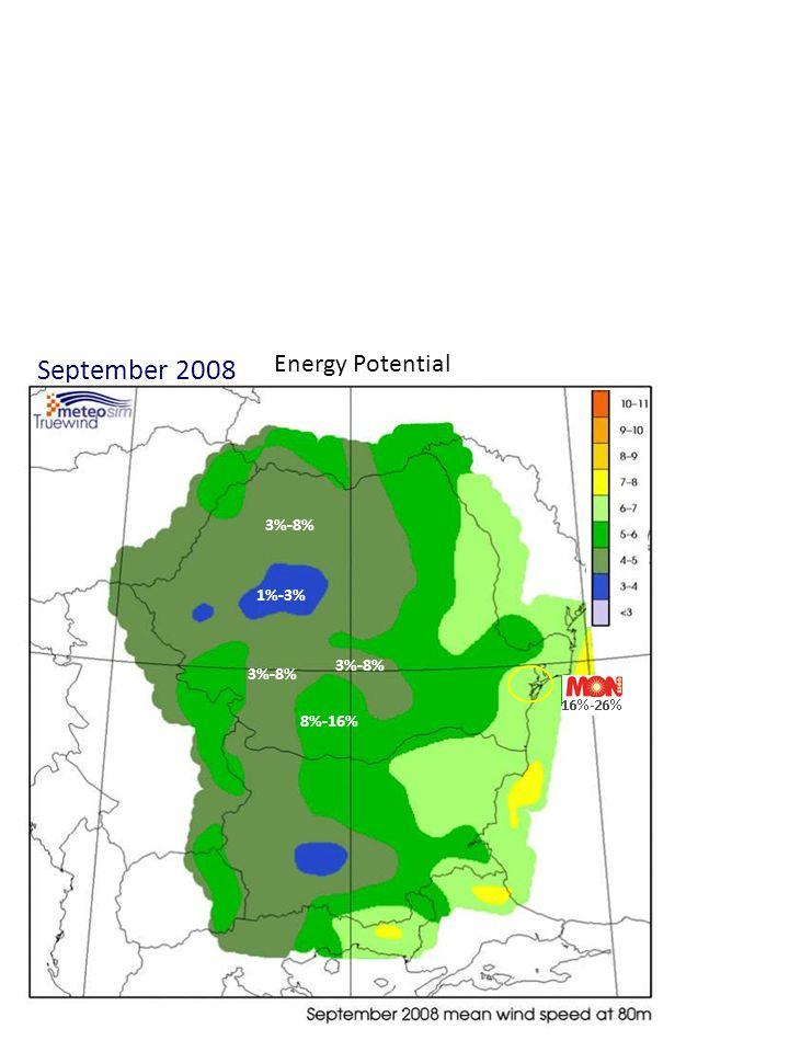 June 2010 Energy Potential 3%-8% 8%-16% 16%-26% 1%-3%