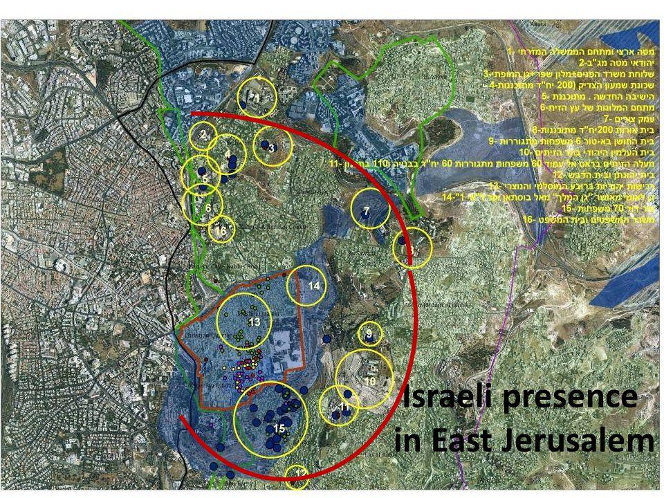 Israeli presence in East Jerusalem