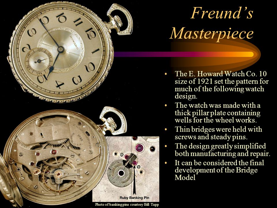 Freund's Masterpiece The E.Howard Watch Co.