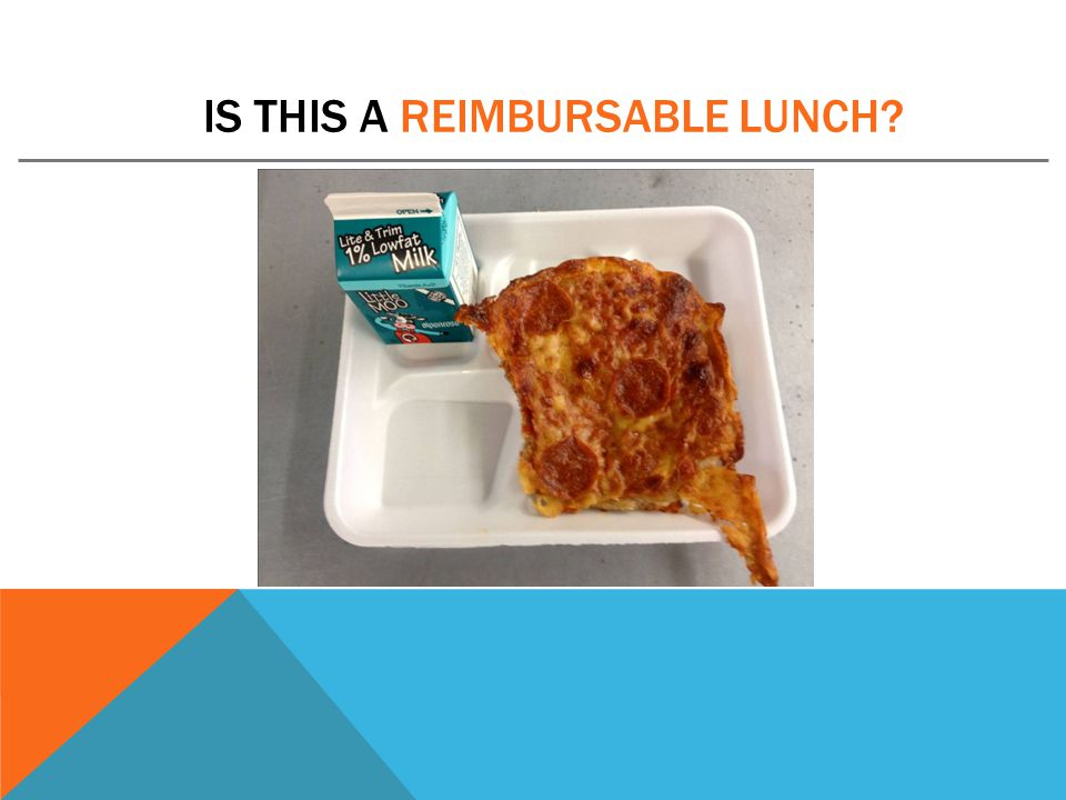 IS THIS A REIMBURSABLE LUNCH?