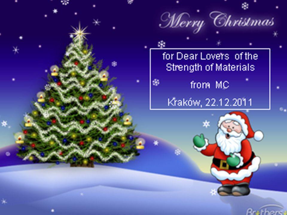 17 /16 M.Chrzanowski: Strength of Materials SM1-10: Continuum Mechanics: Constitutive equations  stop
