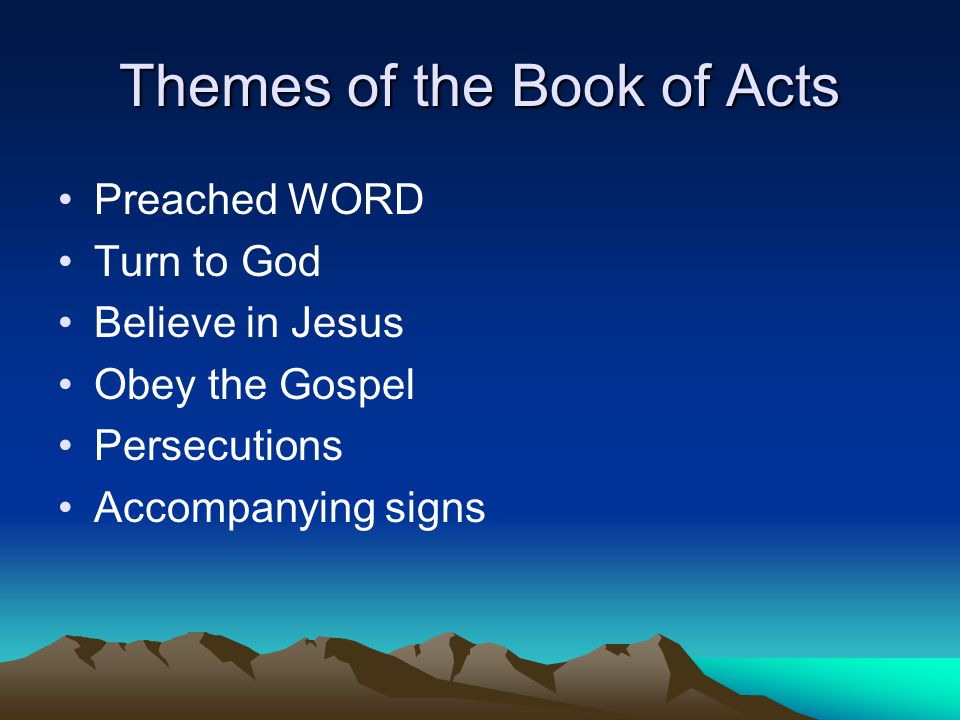 Examples Acts 2:38 Acts 8:35-38 Acts 16:28-34 Acts 18:8