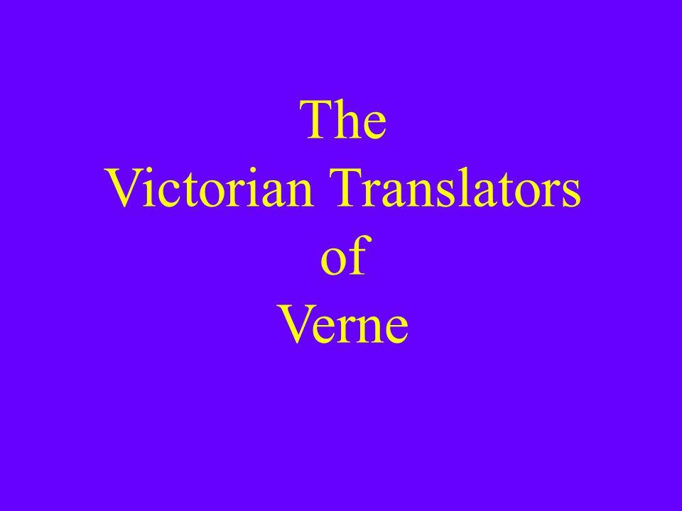 The Victorian Translators of Verne