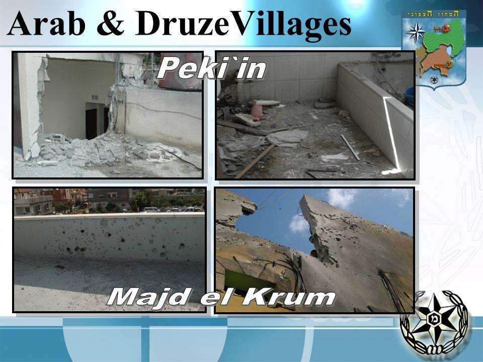 Arab & DruzeVillages