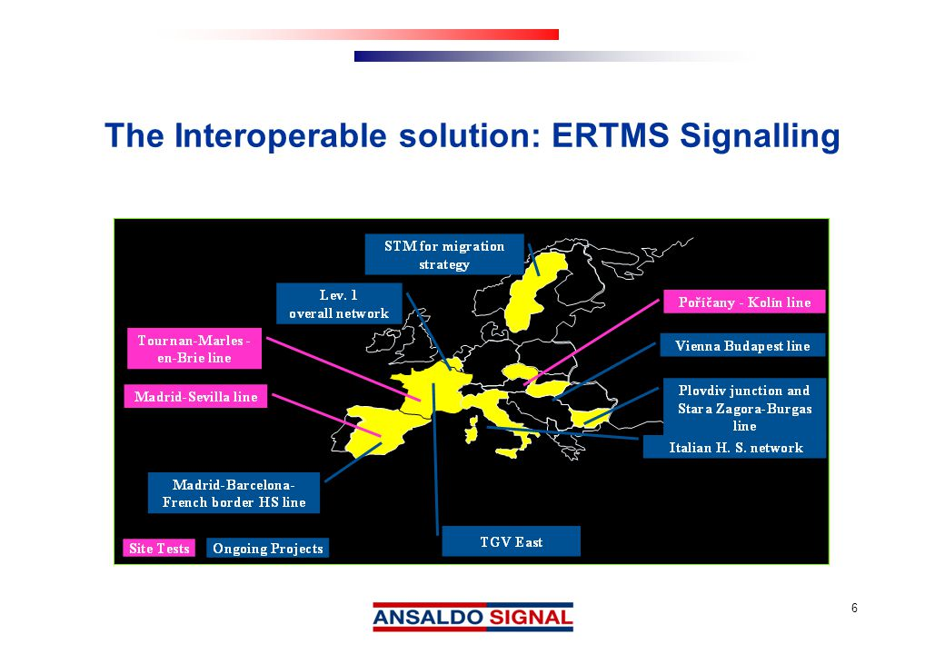 7 ERTMS is the Solution for Signalling