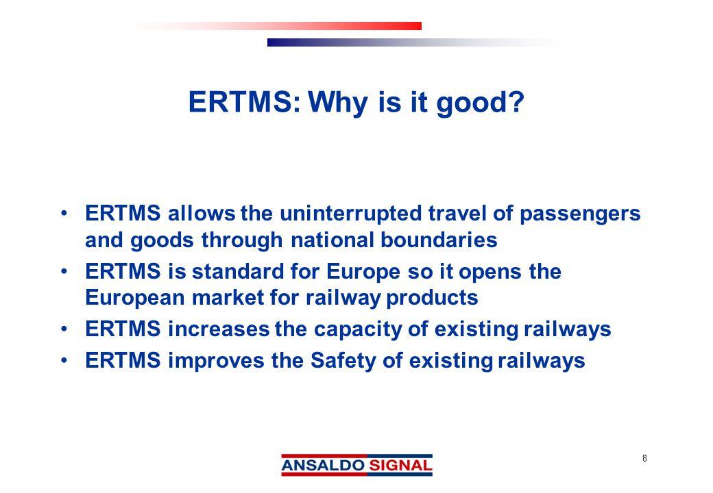 19 Making sure it works: Ansaldo ERTMS Integration Process for Torino-Novara HSL