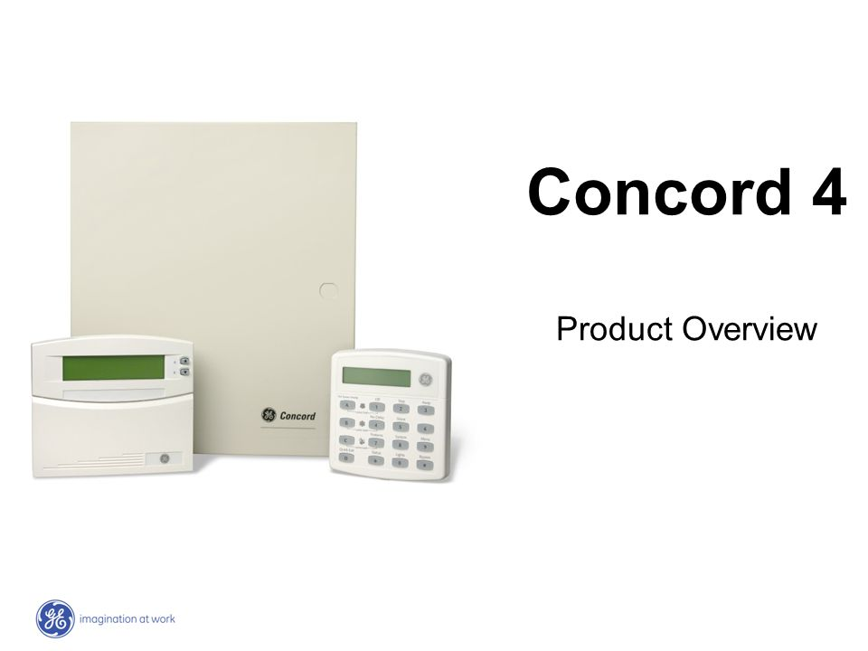 Concord 4 Zones96 Partitions6 Bus Devices16 Users230