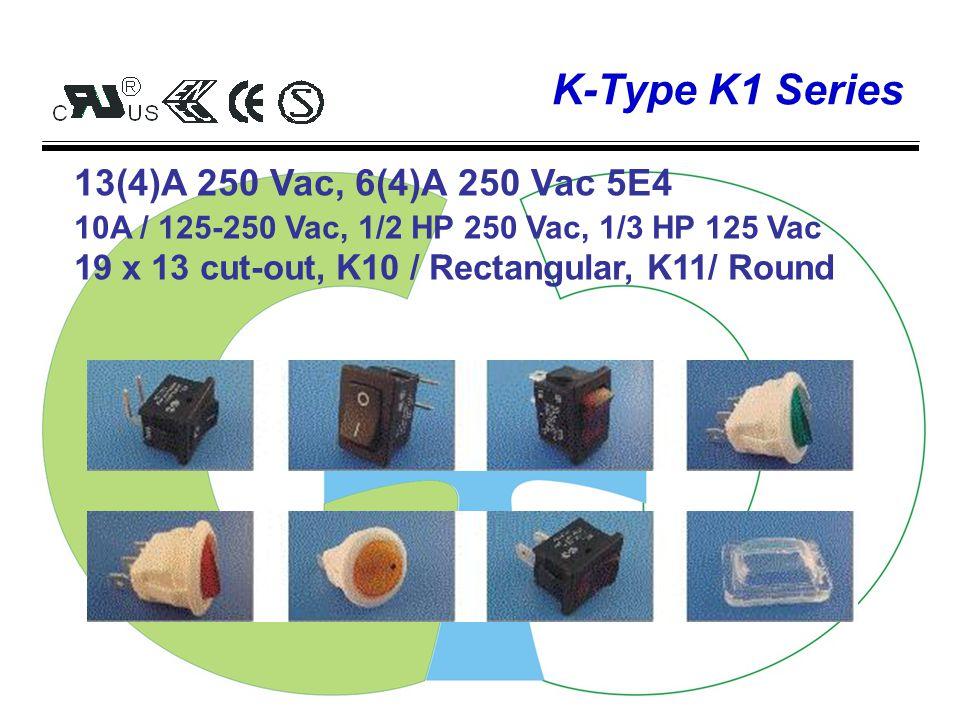 Patrolling V-Type Thermal Motor protector Trip current range: 20A 120Vac, 9A 240Vac, 18A 16 Vac VC1 6A 120Vac 8A / 12Vdc V7AM 20A 120 Vac 9A 240 Vac 18A 16 Vdc VA1 2A / 120Vac 3A / 24Vdc