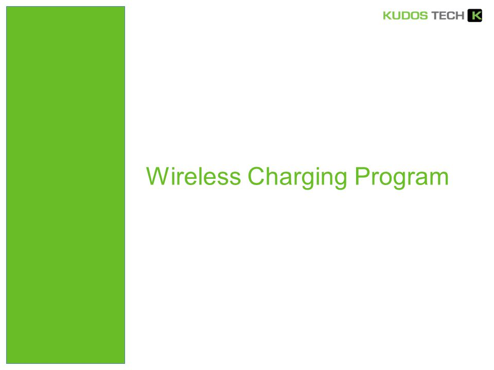 Wireless Charging Program