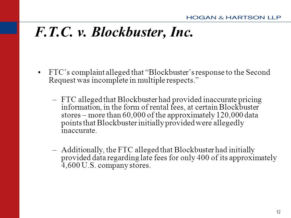 12 F.T.C. v. Blockbuster, Inc.