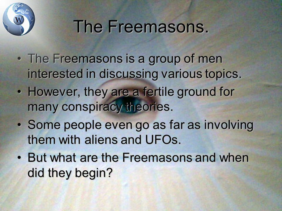 The Freemasons.