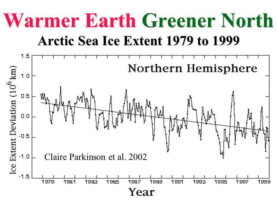 Arctic Sea Ice Trends 2005 summer minima 1979 summer minima