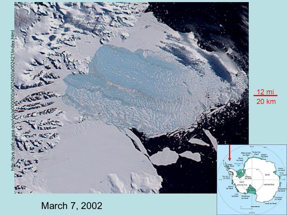 January 31, 2002 http://svs.gsfc.nasa.gov/vis/a000000/a002400/a002421/index.html 12 mi 20 km