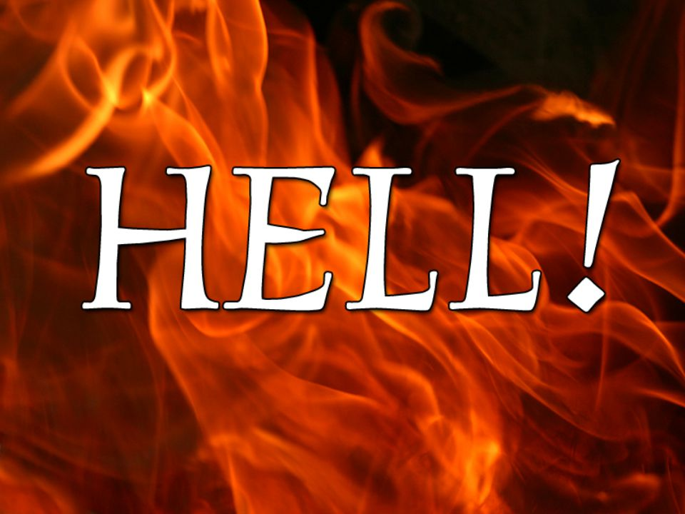 If Anybody Ever Says To You… GO TO HELL!