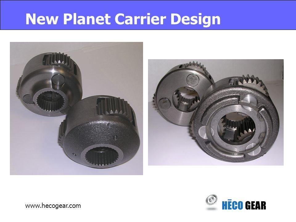 www.hecogear.com New Planet Carrier Design