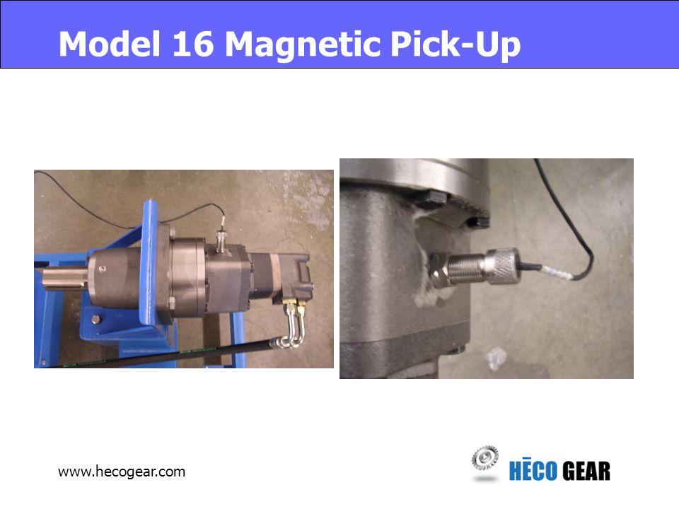 www.hecogear.com Model 16 Magnetic Pick-Up