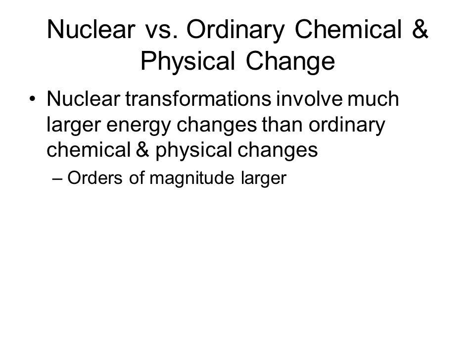Nuclear vs.
