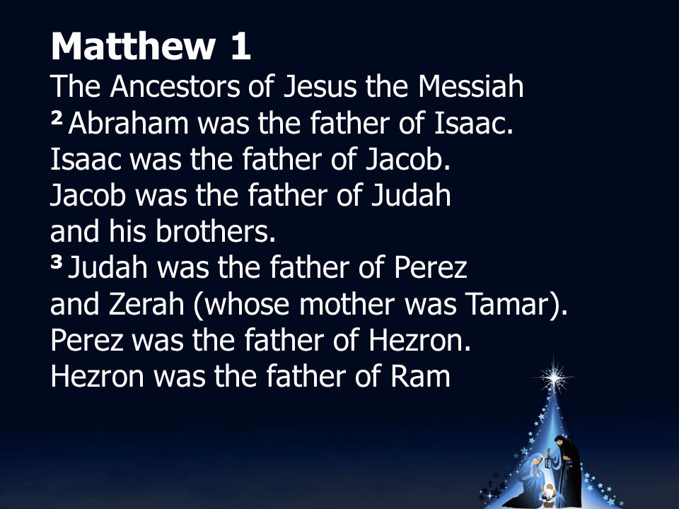 Luke 1 - Mary's Story 31 You will conceive and give birth to a son, and you will name him Jesus.