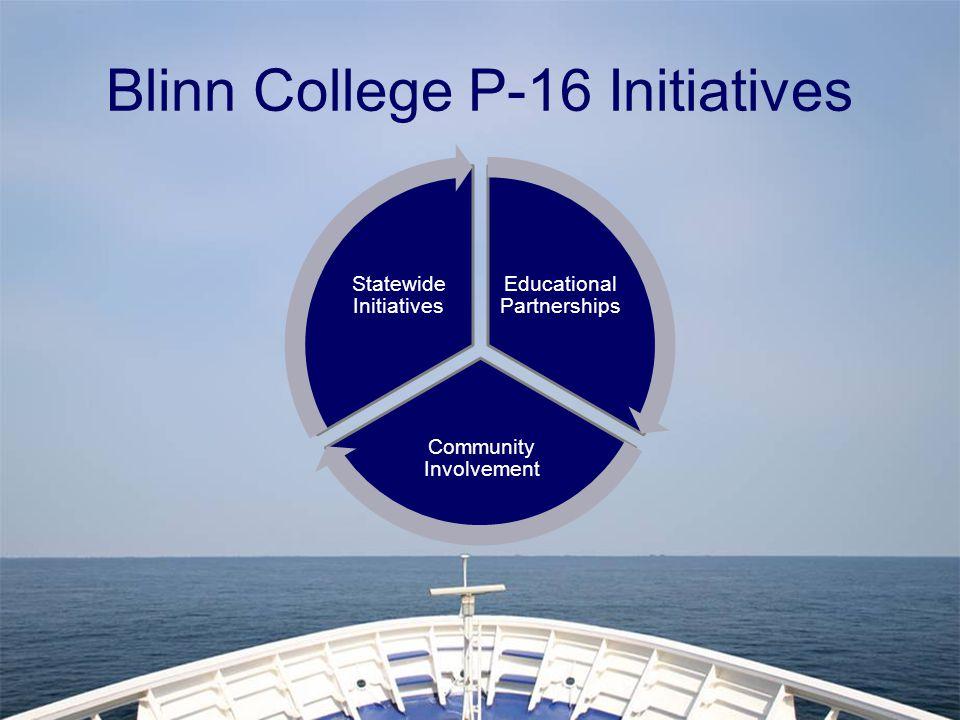 Blinn College P-16 Initiatives