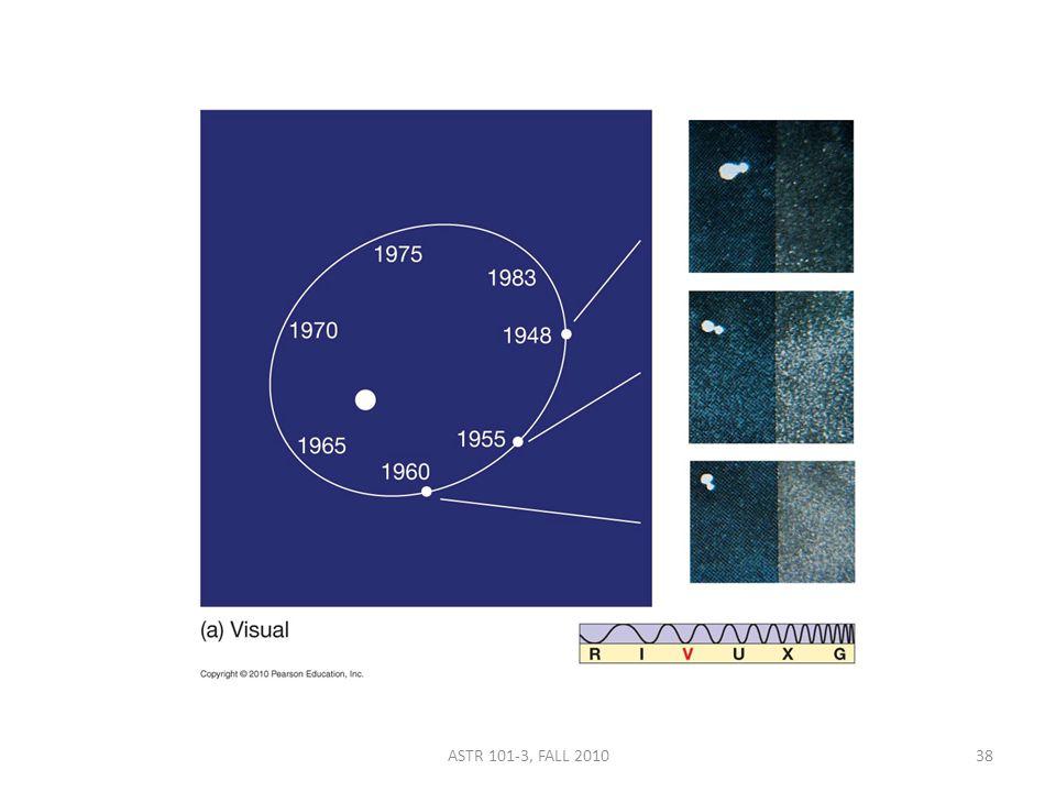 ASTR 101-3, FALL 201038
