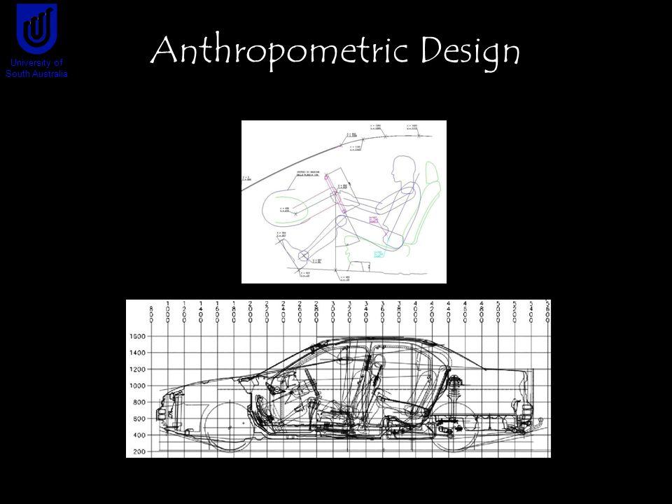 Anthropometric Design University of South Australia