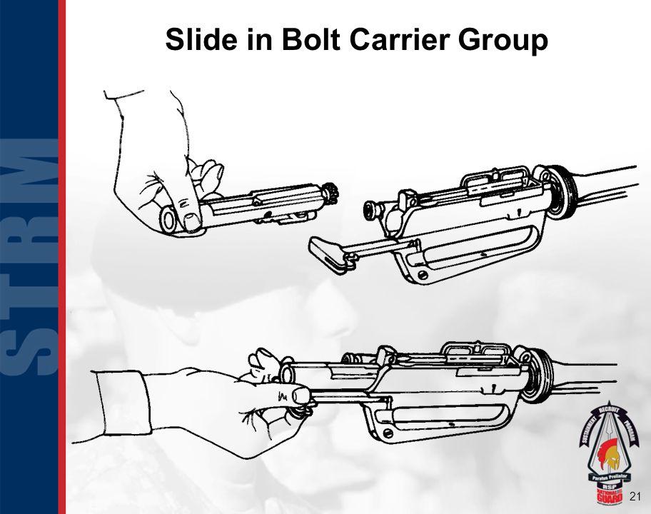 21 Slide in Bolt Carrier Group