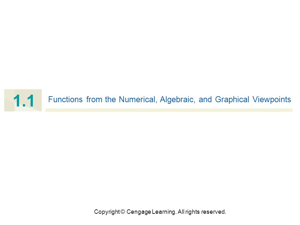 33 Vertical Line Test Functions and models other than linear ones are called nonlinear.