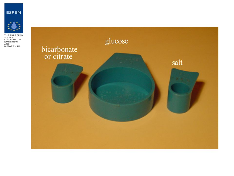 glucose salt bicarbonate or citrate