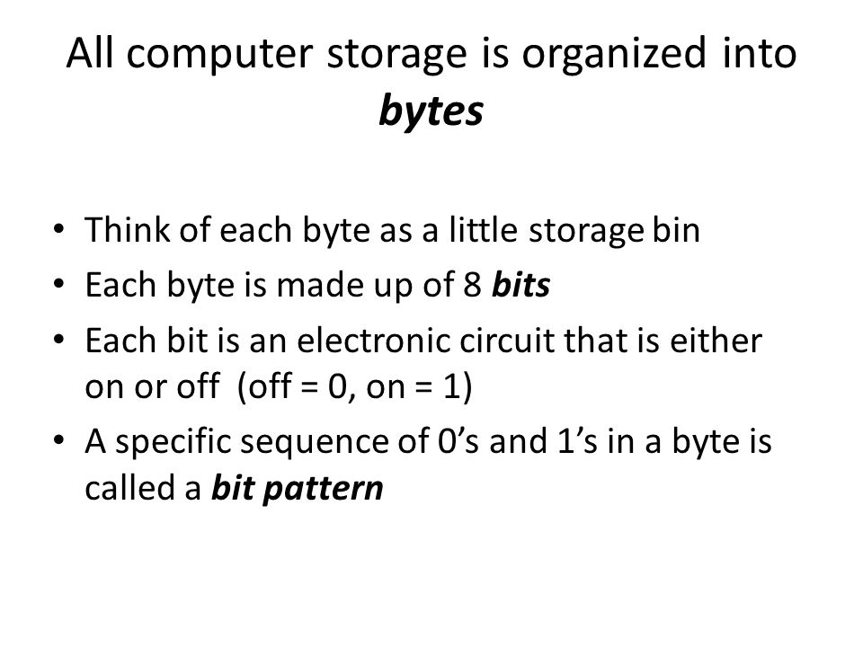 So, how many bytes are in your computer.