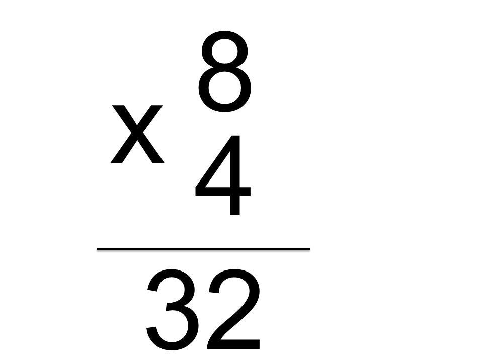 8 4 x 32