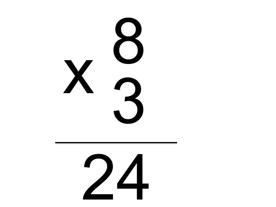 8 3 x 24