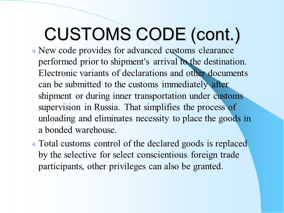 Taxation of Foreign Trade.
