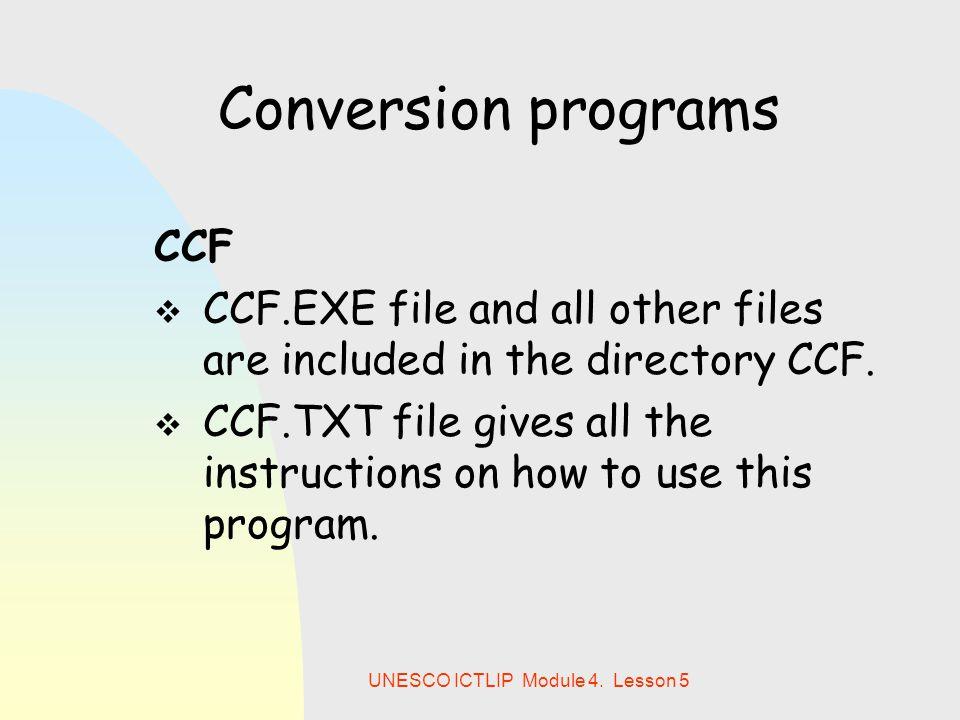 UNESCO ICTLIP Module 4.