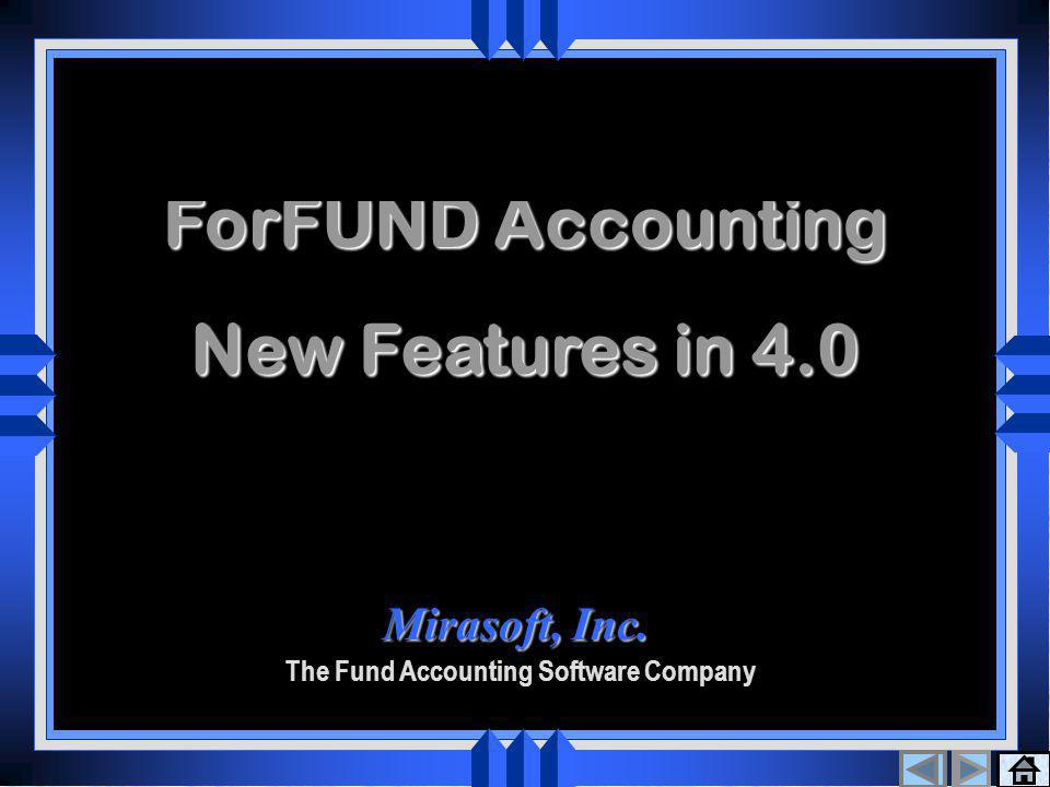 Thank You A BIG THANK YOU for taking the time to review the ForFUND/NP Accounting System.