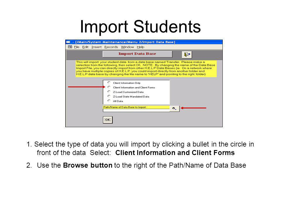 Import Students 1.