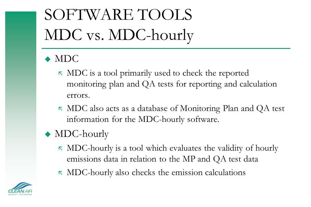 MDC Blue – MP/QA Database